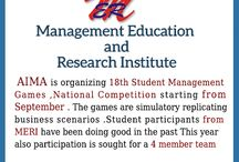 AIMA is organizing 18th Student Management Games