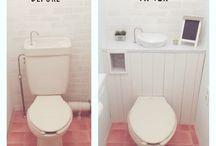 トイレ DIY