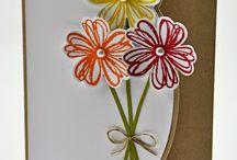 stampin up flower shop cards