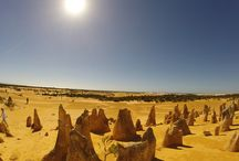 Pinnacles tours and things to do / The Pinnacles Desert is approximately 220 kilometers north of Perth in Western Australia. The Pinnacles themselves are limestone rock formations  that go as far as 40 meters into the ground.