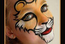 Schminken Leeuw