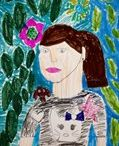 Frida Kahlo Inspired Art Lesson Plans / by Artsonia - Kid's Art Museum, Art Education Resource and Personalized Gifts