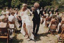 Wedding dress/ bridesmaid