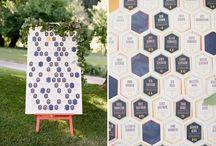 Mariage géométrique / Geometric wedding / Des idées de mariage dans le thème géomtrique