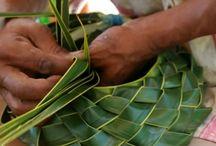 Tressages / Bambous Cocotiers Palmes De Cocotier  Pailles Plantes .... / by Diamonds Pearls