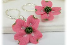 Pink Dogwood Jewelry / by Stranded Treasures