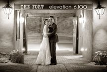 Weddings at The Fort / With a variety of unique spaces to accommodate parties of eight to 350, we invite you to step back in time and fill your special day with history, delicious Mountain Man cuisine and incredible views of the Denver skyline.