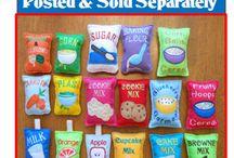 felt foods - food bags