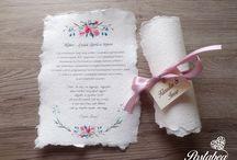 Tekercses esküvői meghívók - Scroll wedding invitation