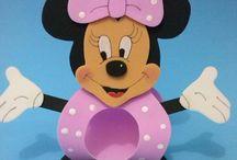 Minie e Mickey idéias