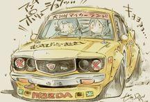 racing cartoons