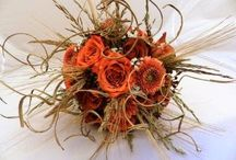 Autumn inspired bouquets
