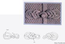 Застежки. Вязание