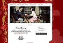 Love / desain tema undangan online dari Datangya.com , Love