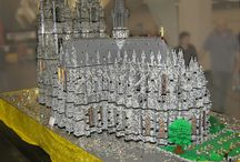 Lego Cathedrals
