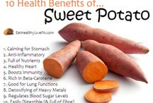 Sweet Potatoes / Health benefits of sweet potatoes and some recipes to help you navigate your way through your CSA delivery this month!