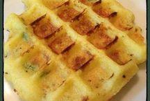 gaufre aux pommes de terre