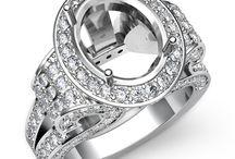 Oval Shape Diamond Engagement Rings / Javda All Oval Engagement Ring