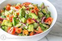 Saladas para cardápio