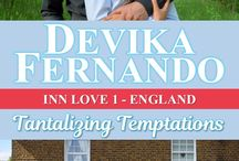 "My novel ""Tantalizing Temptations"" (Inn Love 1 - England) / Pictures to go with my romance novel ""Tantalizing Temptations"", Book 1 of the Inn Love series, set in England. http://www.devikafernando.com/tantalizing-temptations-bb-1.html"