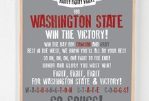 WSU COUGS / by Danielle Soffer