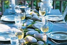tablescape / by Melaine Bennett Thompson