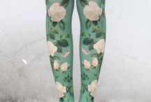 DIY creative leggins