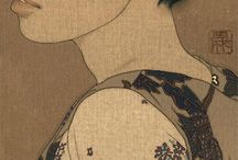 People in Japanese & Chinese Art