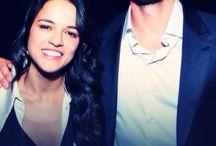 Michelle Rodriguez i Paul Walker