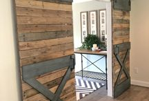 Barn doors for the home