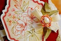 Floral Vintage Labels Two