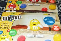 M & M theme party
