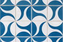 wave pattern tile