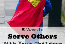 Serving Together Ideas / Ideas on how familys can be serving together
