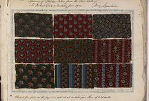 Textile Sample Book 1780