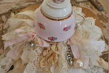 Altered tea set