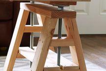 stołek podwyższony