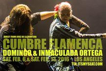 CUMBRE FLAMENCA Feb 2016 / Board about CUMBRE FLAMENCA Concert in February 2016 Featuring Domingo and Inmaculada Ortega Direct from Jerez de la Frontera  Saturday, February 6, 2016 Grand Annex Theatre Saturday, February 13, 2016 Barnsdall Gallery Theatre