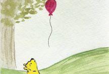 EEYORE & Winnie the Pooh / ^^^^^