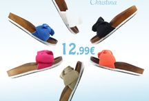 CHRISTINA 12,99€ || Γυναικεία Παντόφλα με Φιόγκο