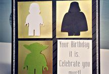 Star Wars birthday cards / Star Wars birthday cards