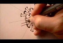 Tangle mønstre