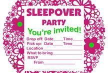 Sleepover / by Deanna Whittle Riddle