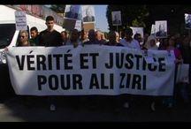 help Qui a tué Ali Ziri? Une histoire et un film étouffés /  soutien pour la création du film