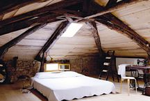 French Attic Bedrooms