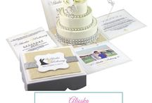 {Invitation Design} Wedding By Color, Quinceanera By Color