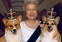 Królowa i jej orszak