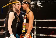 Fierce staredowns / Staredowns that give you chills