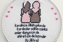 Cross stitch İslam