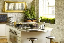 Kitchens with island benches